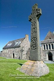 Image - St Martins Cross, Iona Abbey