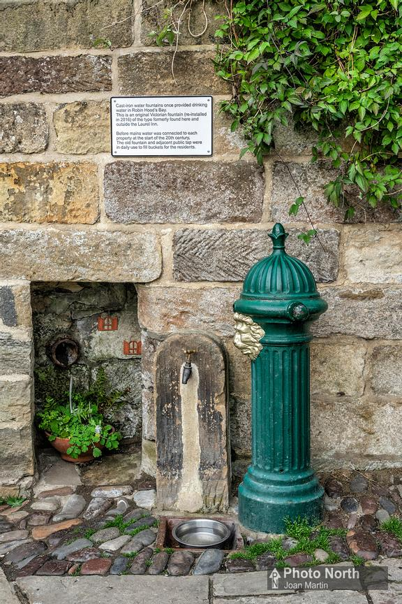 ROBIN HOOD'S BAY 20A - Victorian water fountain