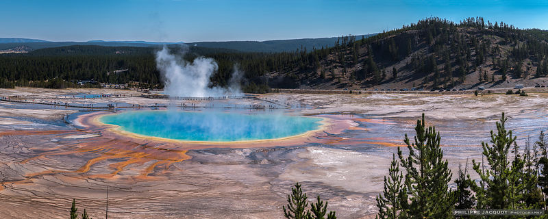 Grand Prismatic Spring - Parc National de Yellowstone - Wyoming