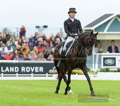 Dan Jocelyn and BLACKTHORN CRUISE - Dressage - Land Rover Burghley Horse Trials 2019