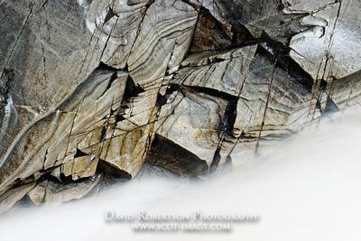 Image - Mica schist rock and Water of Bruar