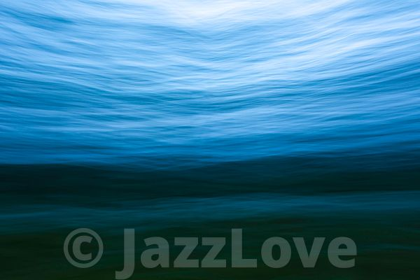 Under the sea surface.ICM nature abstract.