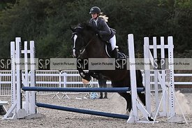 Stapleford Abbotts. United Kingdom. 05 August 2020. Class 8. Wednesday night unaffiliated showjumping. MANDATORY Credit Garry...