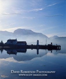 Image - Loch Linnhe to Ben Nevis, Corpach