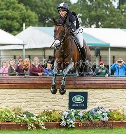 Savannah Fulton and CAPTAIN JACK - Cross Country - Land Rover Burghley Horse Trials 2019