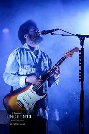 Michael Kiwanuka in concert on the first night of his UK tour at the O2 Academy, Birmingham, United Kingdom - 01 Mar 2020