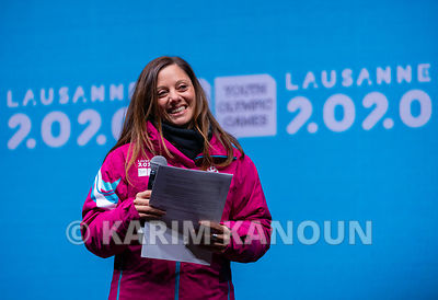 Closing_Ceremony_-_president_of_Lausanne_2020_-_Virginie_Faivre
