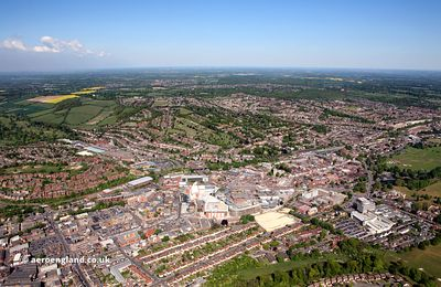 High Wycombe aerial photograph