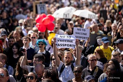 Protest against Coronavirus Restrictions
