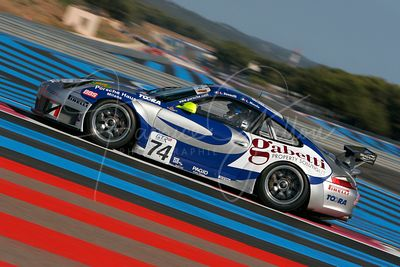 Emanuele Busnelli (IT) et Luigi Moccia (IT), Porsche 996 GT3 RSR. Team Ebimotors. Action.