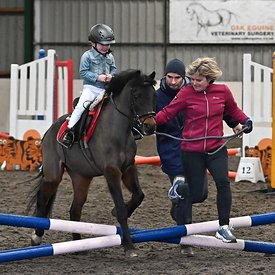 15/03/2020 - Class 1 - Unaffiliated showjumping - Brook Farm training centre - UK