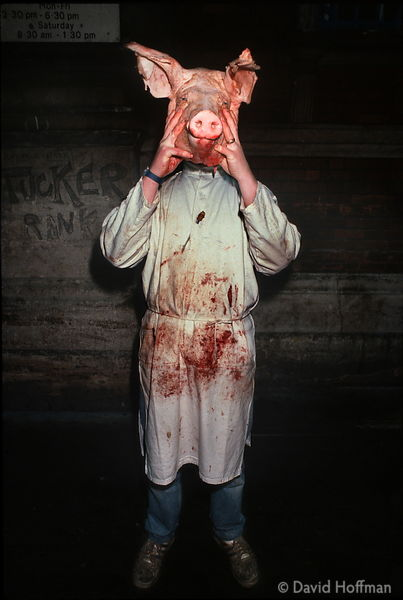 Smithfield Meat Market, City of London 1989.