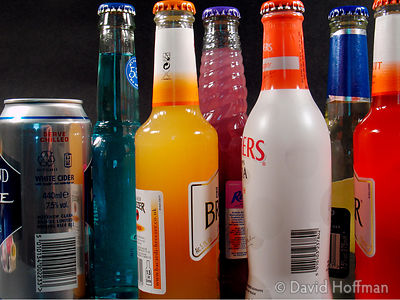 Alcohol 4 Brands of alcohol favoured by young drinkers due to the sweetness & low price.