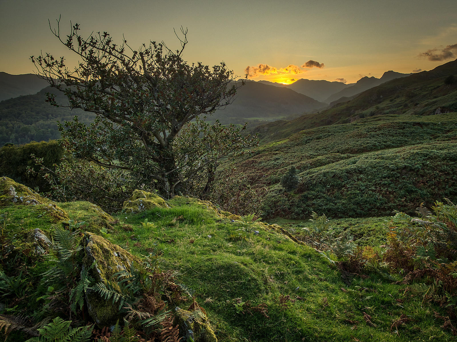 Sunset on Langdale