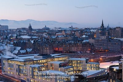 Image - View over the Old Town of Edinburgh at dawn, Scotland