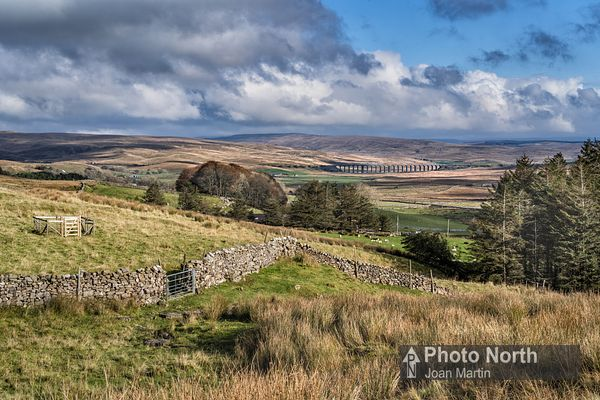 CHAPEL-LE-DALE 01A - Ribblehead Viaduct from Ellerbeck