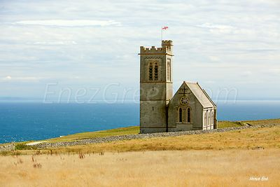 St Helena's church Lundy island
