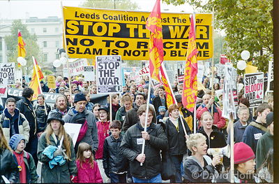 01111902-12 Peace march, London.19 Nov 2001
