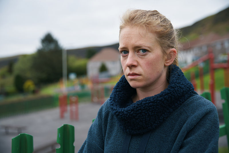 The Accident - unit stills portrait - Genevieve Barr