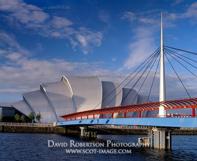 Image - Bells Bridge, SECC, Armadillo, Glasgow, Scotland
