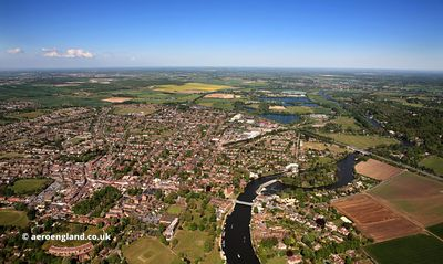 Marlow aerial photograph