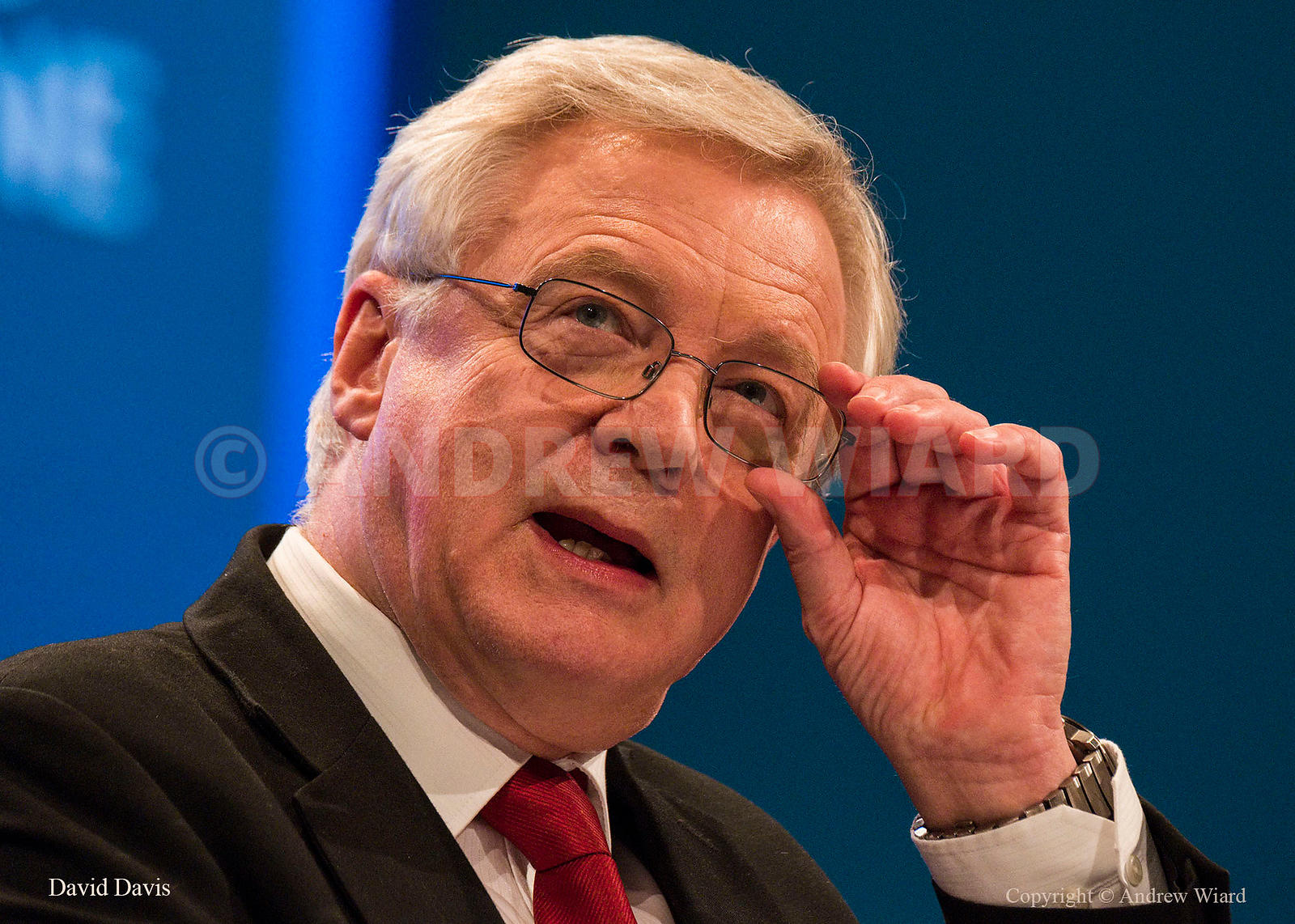 England, UK . 3.10.2017. Manchester . Conservative Party Conference, Tuesday. David Davis.