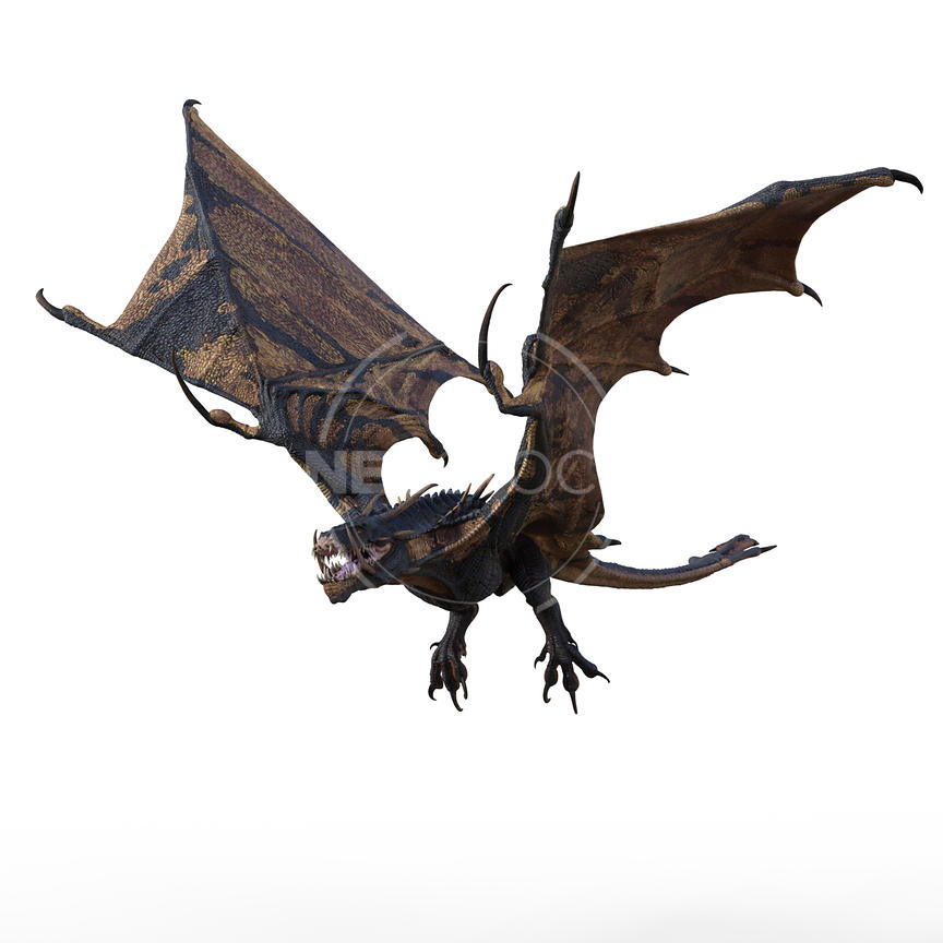 33-CG-creature-ultimate-dragon-wyvern-neostock