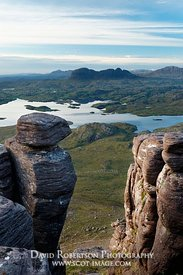 Image - Suilven, viewed from Stac Pollaidh
