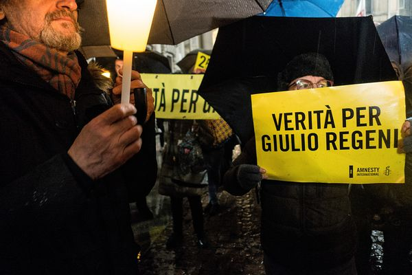 """Truth for Giulio Regeni"""