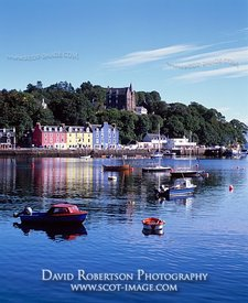 Image - Tobermory harbour, Isle of Mull, Scotland