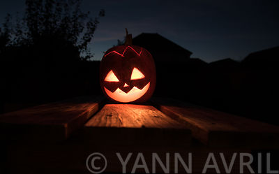 Préparer une citrouille d'Halloween ∞ Carving a pumpkin for Halloween