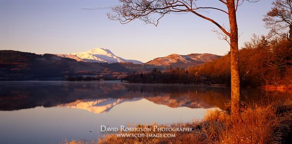 Image - Loch Ard and Ben Lomond, Scotland, Panoramic