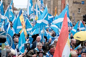 All Under One Banner Scottish Independence March, Edinburgh
