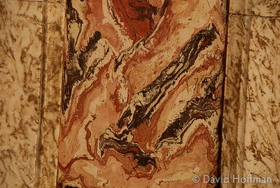070911-21_Majella_330 Painted panel imitating marble in the Caramanico Terme Church of S. Maria Maggiore.