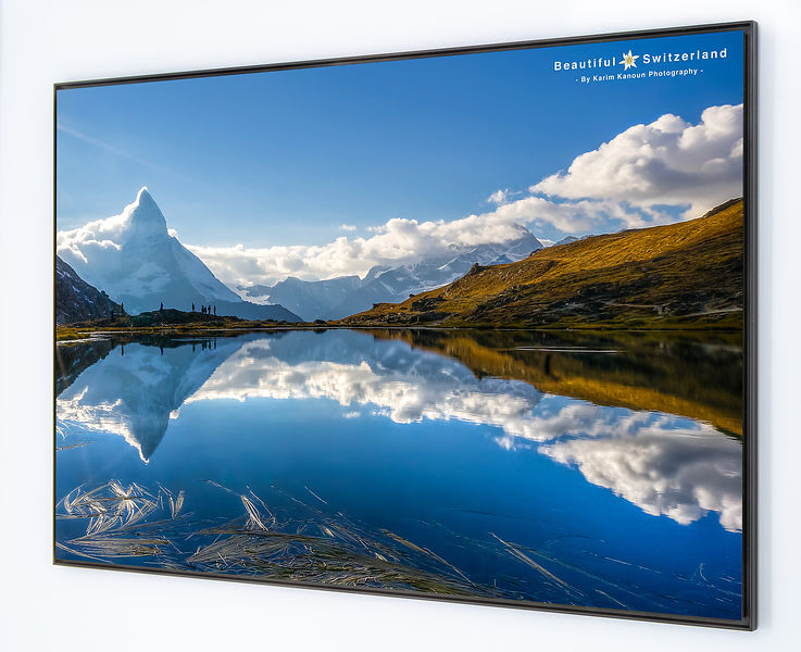 Matterhorn reflection - Lake Riffelsee
