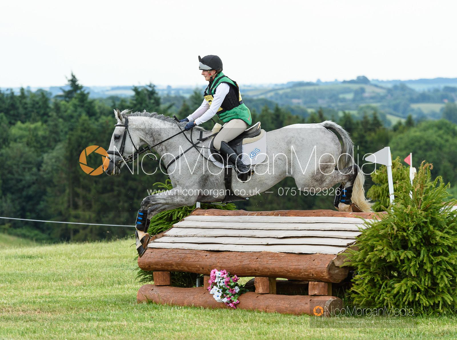 Catherine Fear and ETOILE LA VIE - Upton House Horse Trials 2019.
