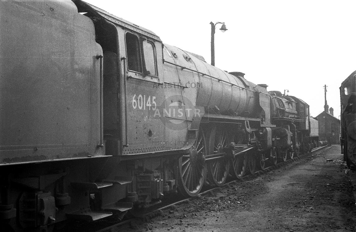 Steam loco A1 60145 York