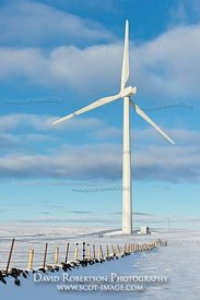 Image - Green Knowes windfarm in the Ochil Hills, Perthshire, Scotland
