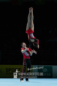 AG 12-18 Mixed Pair Austria - Dynamic