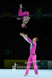 AG 12-18 Mixed Pair Ukraine - Dynamic
