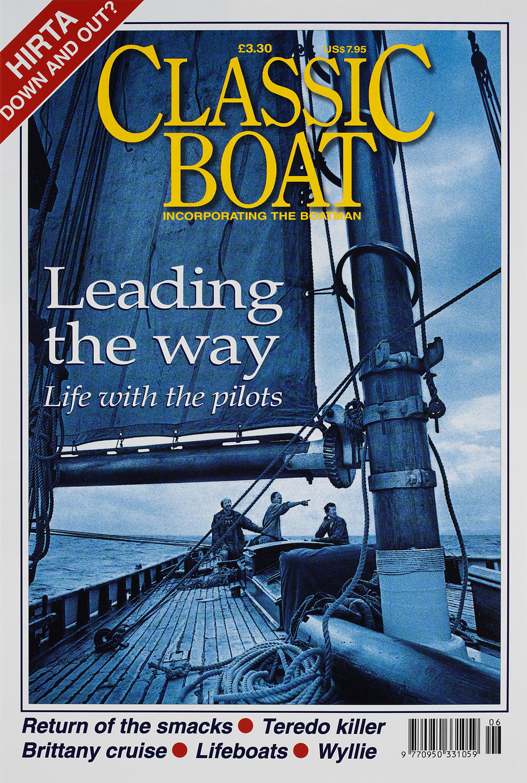 Aboard the 'OLGA', a 1910 pilot cutter in the Bristol Channel.