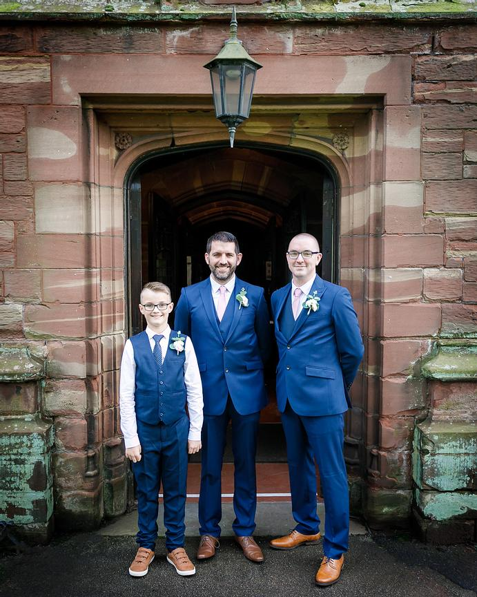 Wedding at St Peter's Church, Newton-le-Willows, Lancashire, Merseyside, UK