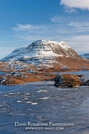 Image - Cul Mor and Loch Sionascaig, Inverpolly, Scotland