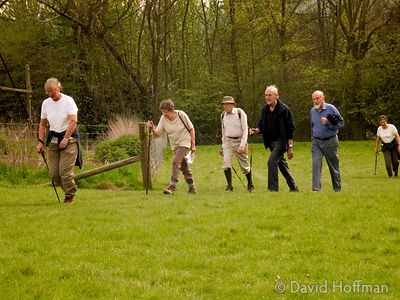 Older people walking
