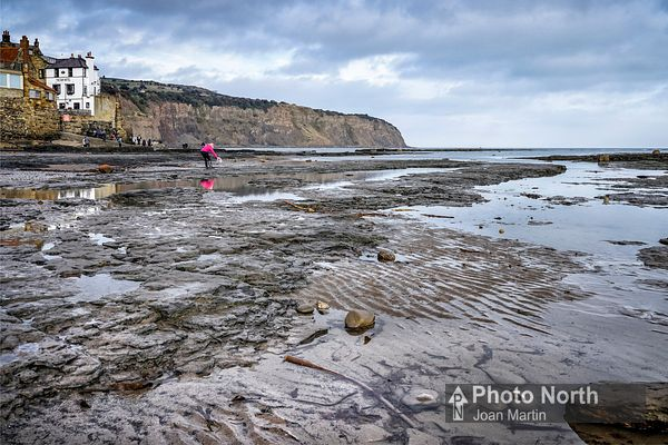 ROBIN HOOD'S BAY 05A - Rocky reef and rock pools