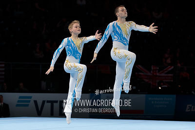 AG 12-18 Men's Pair Ukraine - Balance