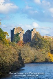 Image - Doune Castle and River Teith, Stirling, Scotland