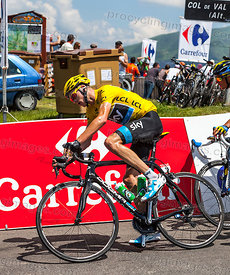 Yellow Jersey- Christopher Froome - Tour de France 2013