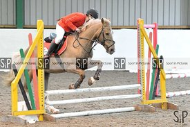 Unaffiliated showjumping. Brook Farm Training Centre. Essex. UK. 31/03/2019. ~ MANDATORY Credit Garry Bowden/Sportinpictures ...