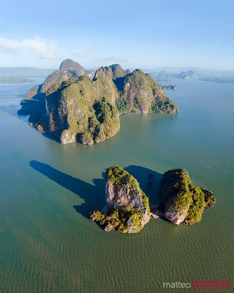 James Bond Island and karst peaks, Phang Nga bay, Thailand